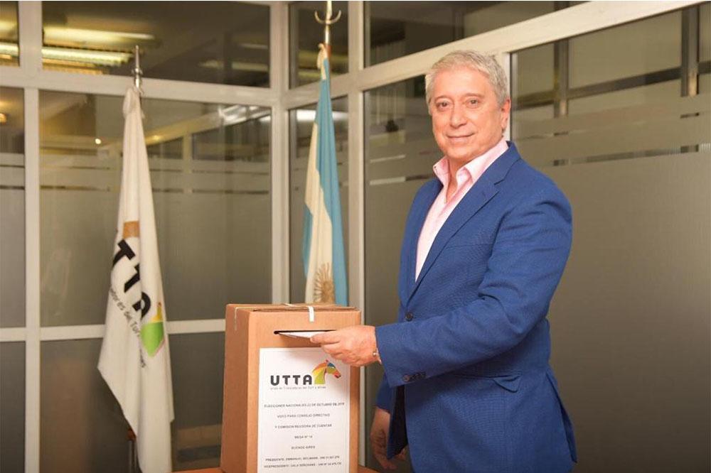 Carlos Felice, reelecto en la UTTA