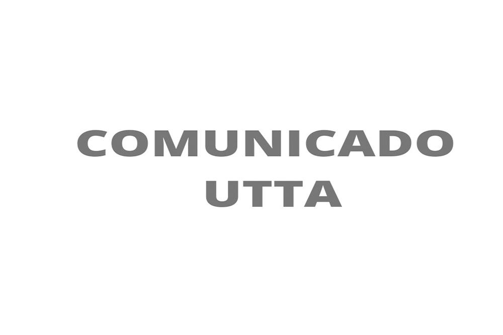 Comunicado UTTA